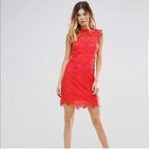 Free People Day Dream orange Mini Dress